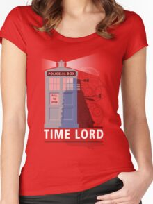 Time lord Women's Fitted Scoop T-Shirt