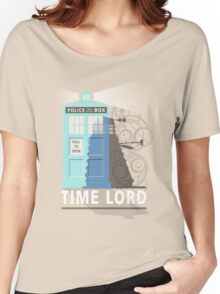 Time lord Women's Relaxed Fit T-Shirt