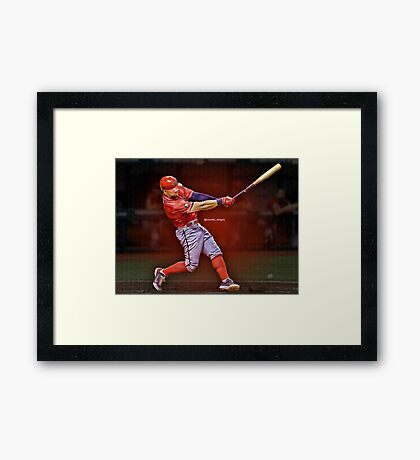 Sports Edit Framed Print