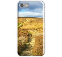 Cleveland Way - North York Moors, UK iPhone Case/Skin