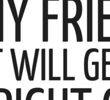 John Lennon Quote Friends Friendship Cool Inspirational Sticker