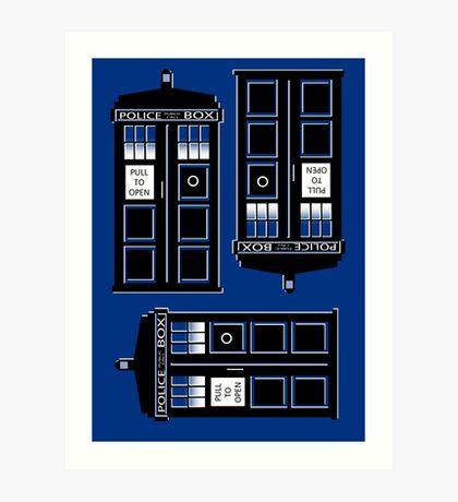tIME bOX 3 Art Print