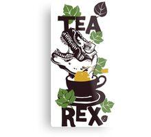 T-Rex Tea Rex Metal Print