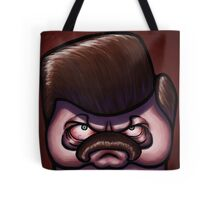 Ron Square-icature Tote Bag