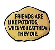 Funny Random Humour Joke Comedy Weird Photographic Print