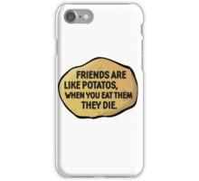 Funny Random Humour Joke Comedy Weird iPhone Case/Skin