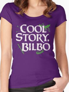 Cool Story Bilbo Women's Fitted Scoop T-Shirt