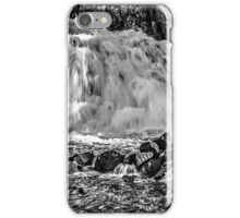 Cauldron Snout - Black and White iPhone Case/Skin