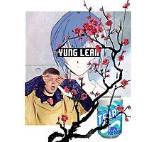 Yung Lean Anime Vaporwave Photographic Print