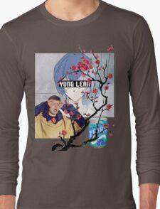 Yung Lean Anime Vaporwave Long Sleeve T-Shirt