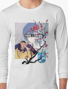 Yung Lean Anime Vaporwave Long Sleeve T-Shirt