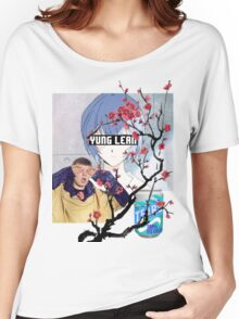 Yung Lean Anime Vaporwave Women's Relaxed Fit T-Shirt