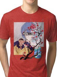 Yung Lean Anime Vaporwave Tri-blend T-Shirt