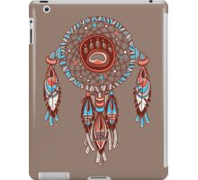 Dream catcher with bear trail iPad Case/Skin