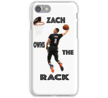 ZACH LAVINE ACHIEVES ORBIT iPhone Case/Skin