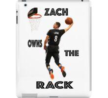 ZACH LAVINE ACHIEVES ORBIT iPad Case/Skin