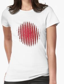fringe interference Womens Fitted T-Shirt