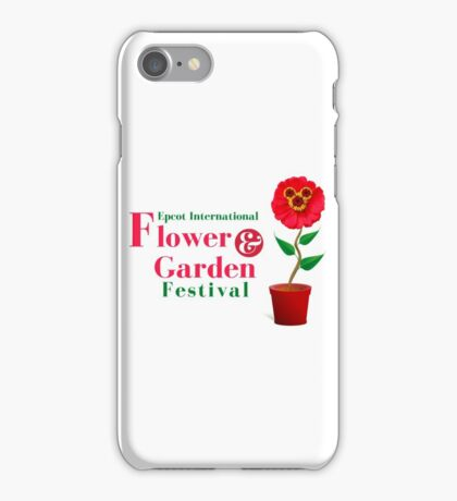 Epcot Flower and Garden Festival Planted Mickey iPhone Case/Skin