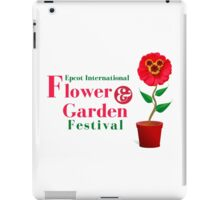 Epcot Flower and Garden Festival Planted Mickey iPad Case/Skin