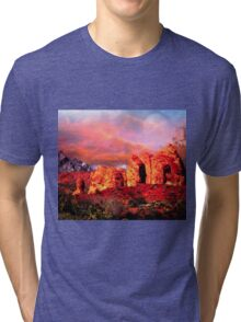 Nevada Valley of Fire -  Natural Aztec Sandstone Tri-blend T-Shirt