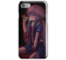 Future Diary Yuno Gasia Psycho Mode iPhone Case/Skin