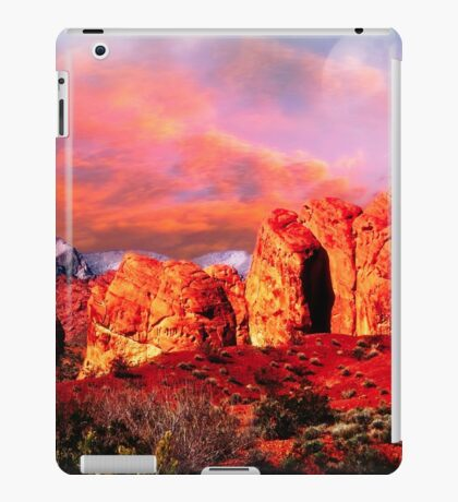 Nevada Valley of Fire -  Natural Aztec Sandstone iPad Case/Skin