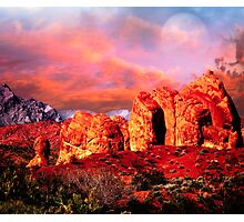 Nevada Valley of Fire -  Natural Aztec Sandstone Photographic Print