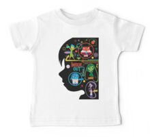 inside out Baby Tee