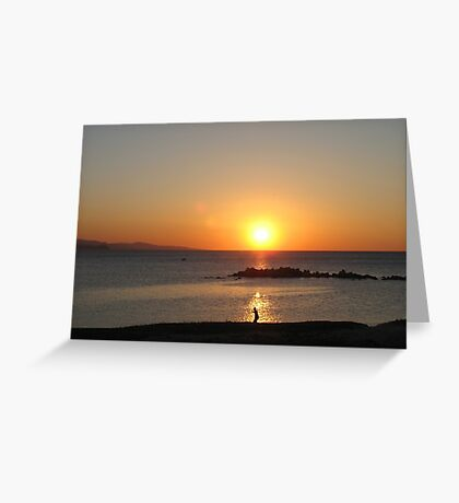 In the Spotlight Greeting Card