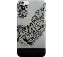 """Wolf and Steak"" iPhone Case/Skin"