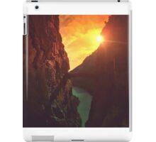 Caminito del rey iPad Case/Skin