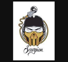 Simple Scorpion Logo Kids Tee