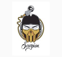 Simple Scorpion Logo One Piece - Short Sleeve