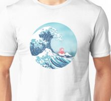 Ponyo and the great wawe (best version) Unisex T-Shirt