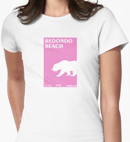Redondo Beach - California. Womens Fitted T-Shirt