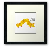 The Very Hungry Pacapillar Framed Print