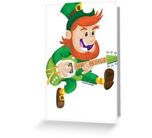 ShamRock & Roll! Greeting Card