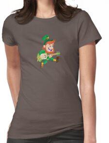 ShamRock & Roll! Womens Fitted T-Shirt