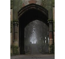 Ethereal route Photographic Print