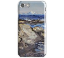 The Mt. Baker Reach iPhone Case/Skin
