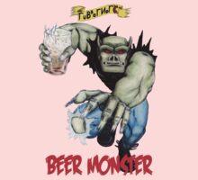 Rubbernorc Beer Monster Kids Tee