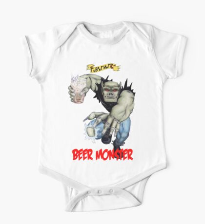 Rubbernorc Beer Monster One Piece - Short Sleeve