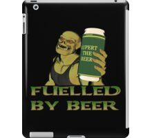 Rubbernorc Fuelled by Beer iPad Case/Skin