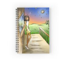 Stargazing Girl I Know Spiral Notebook