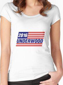 Underwood Logo Women's Fitted Scoop T-Shirt
