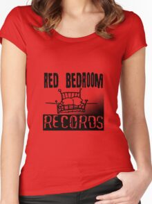 Red Bedroom Records Women's Fitted Scoop T-Shirt