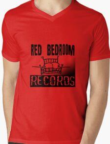 Red Bedroom Records Mens V-Neck T-Shirt