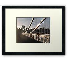 Across the Gorge Framed Print