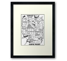 Gonad The Barbarian - Clunge Valley Framed Print