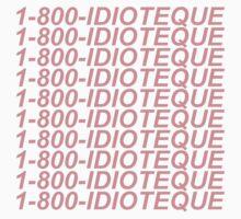Idiotique - radiohead Kids Tee